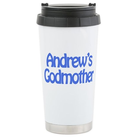 Andrew's Godmother Stainless Steel Travel Mug