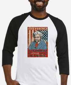 Mark Twain Irreverence Baseball Jersey