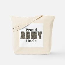 Proud Army Uncle (ACU) Tote Bag