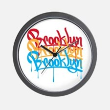 Brooklyn Colors Wall Clock