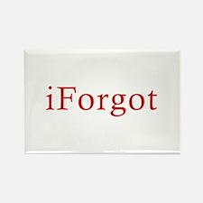 iForgot Rectangle Magnet