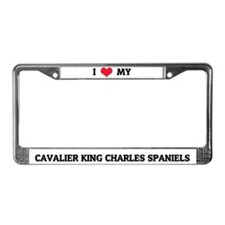 I Love My Cavalier King Charles Spaniels Frame