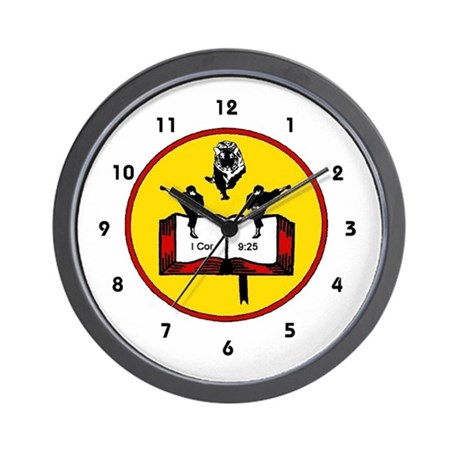 Bible Martial Arts Wall Clock