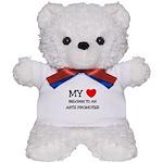 My Heart Belongs To An ARTS PROMOTER Teddy Bear