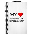 My Heart Belongs To An ARTS PROMOTER Journal