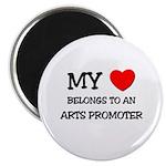 My Heart Belongs To An ARTS PROMOTER Magnet