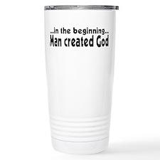 in the beginning Travel Mug