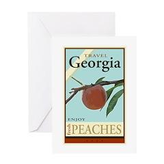 Travel Georgia Greeting Card