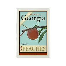 Travel Georgia Rectangle Magnet
