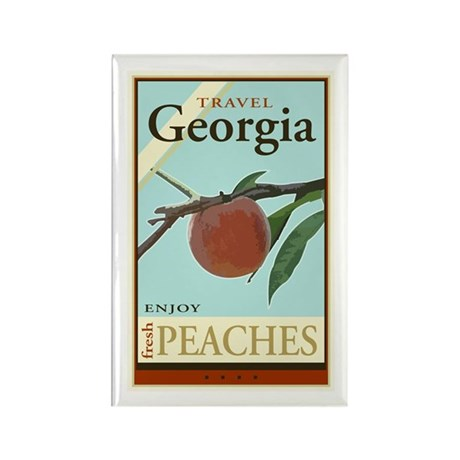 Travel Georgia Rectangle Magnet (10 pack)