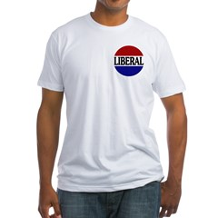 Liberal Red White and Blue Shirt