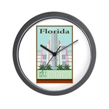 Travel Florida Wall Clock