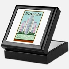 Travel Florida Keepsake Box