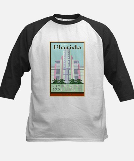 Travel Florida Kids Baseball Jersey