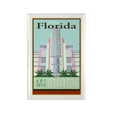 Travel Florida Rectangle Magnet