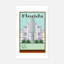 Travel Florida Rectangle Decal