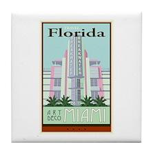 Travel Florida Tile Coaster