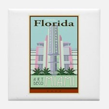 Travel Florida Tile Coaster