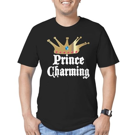 Prince Charming Men's Fitted T-Shirt (dark)