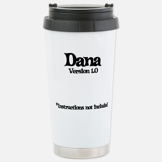 Dana - Version 1.0 Stainless Steel Travel Mug