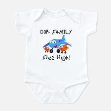 Our Family Flies High Infant Bodysuit