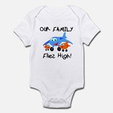 Our Family Flies High Onesie