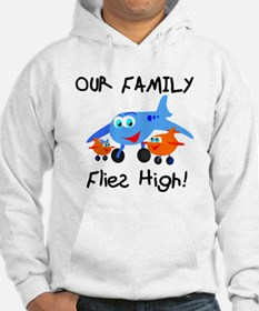 Our Family Flies High Hoodie
