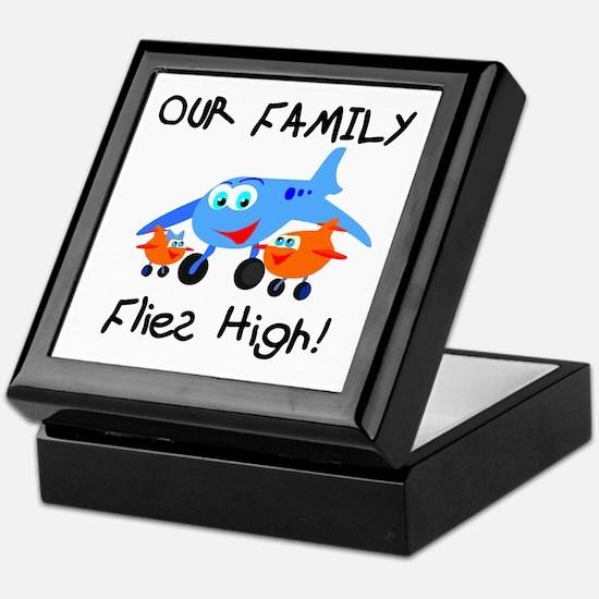 Our Family Flies High Keepsake Box