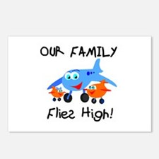Our Family Flies High Postcards (Package of 8)