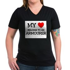 My Heart Belongs To An ARMOURER Shirt
