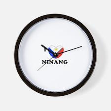 Funny Ninong Wall Clock