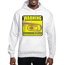 WARNING: Euphonium Player Hoodie