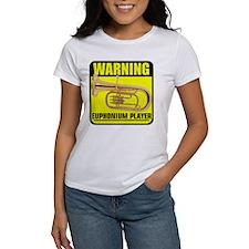 WARNING: Euphonium Player Tee