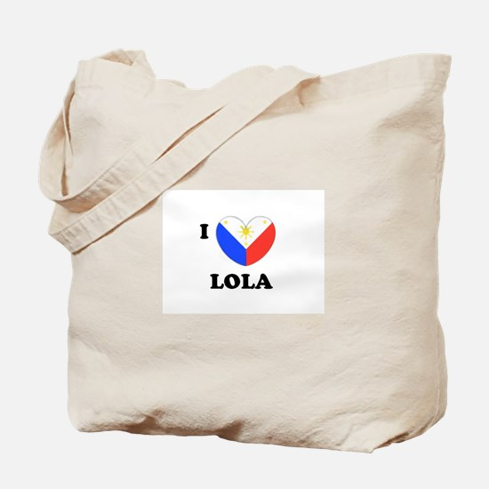 Cute Philippines heart Tote Bag