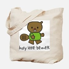 Busy Little Beaver Tote Bag