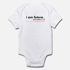 i am futura Infant Bodysuit