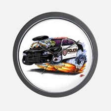 MOPAR Police Car Wall Clock