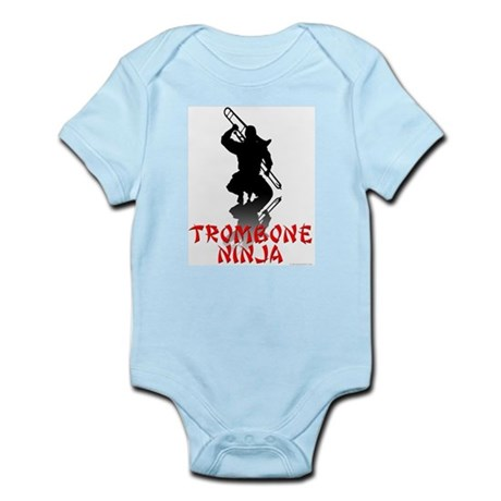 Trombone Ninja Infant Bodysuit