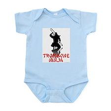 Trombone Ninja Infant Bodysuit