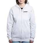 Trombone Ninja Women's Zip Hoodie