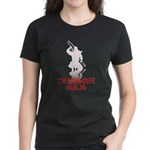 Trombone Ninja Women's Dark T-Shirt