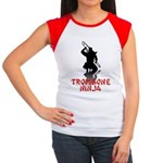 Trombone Ninja Women's Cap Sleeve T-Shirt