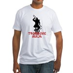 Trombone Ninja Fitted T-Shirt