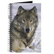 """Grey Wolf in Snow"" Journal"