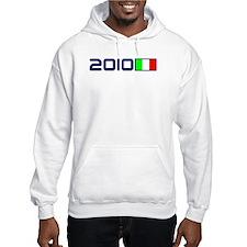 2010 Italy Flag Hoodie