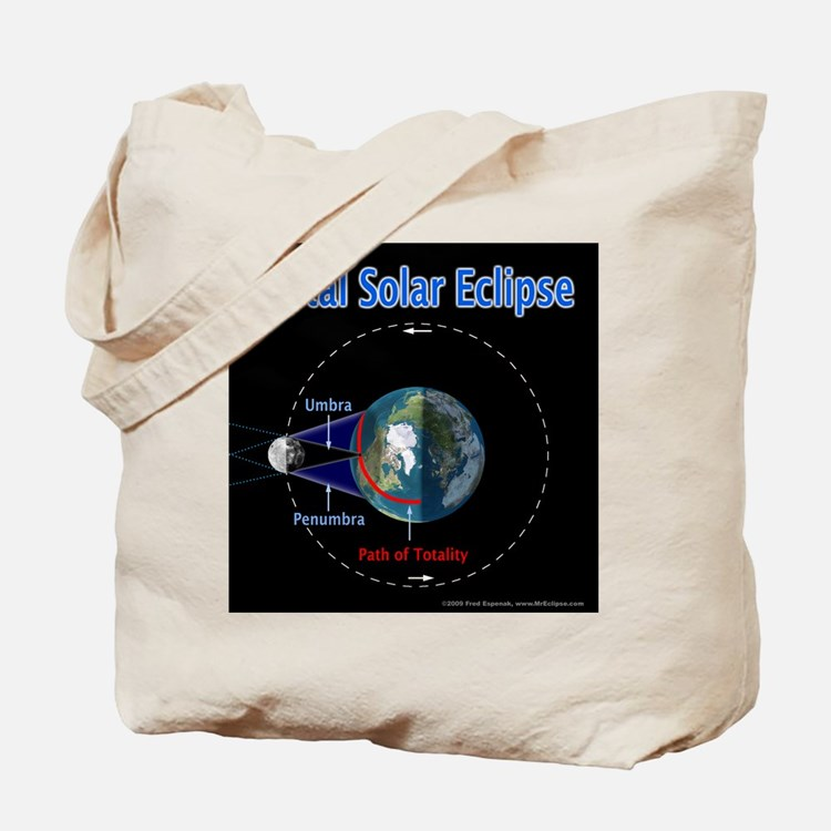 Total Solar Eclipse - 1, Tote Bag