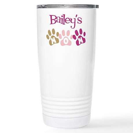 Bailey's Mom Stainless Steel Travel Mug