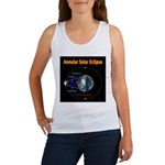 Annular Solar Eclipse - 1, Women's Tank Top