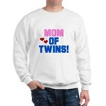 Mom of Twin Boy/Girl Sweatshirt