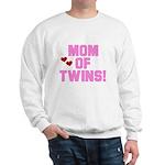 Mom of Twin Girls Sweatshirt